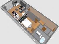Prodej bytu 2+kk v osobním vlastnictví 43 m², Praha 9 - Vysočany