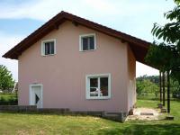 pro tento čelní pohled.  (Prodej domu v osobním vlastnictví 90 m², Vráž)