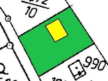 Snímek mapy - Prodej domu v osobním vlastnictví 90 m², Vráž