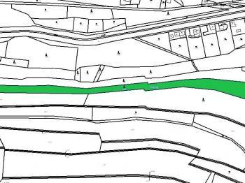 Snímek mapy - Prodej pozemku 10260 m², Lašovice