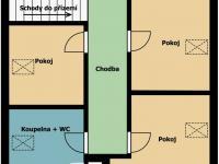 podkroví - Prodej domu v osobním vlastnictví 178 m², Jedomělice