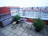 Terasa ve dne - Prodej bytu 4+kk v osobním vlastnictví 134 m², Praha 5 - Košíře