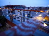 Detail terasy - Prodej bytu 4+kk v osobním vlastnictví 134 m², Praha 5 - Košíře