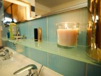 Detail 1. koupelny - Prodej bytu 4+kk v osobním vlastnictví 134 m², Praha 5 - Košíře