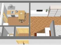 Inspirace: Rekonstrukce 1 (Prodej bytu 1+1 v družstevním vlastnictví 44 m², Praha 4 - Nusle)