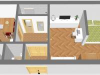 Inspirace: Rekonstrukce 2 (Prodej bytu 1+1 v družstevním vlastnictví 44 m², Praha 4 - Nusle)