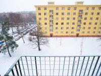 Výhled z balkonu (Prodej bytu 2+1 v družstevním vlastnictví 52 m², Praha 9 - Hloubětín)