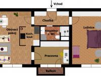 Inspirace: rekonstrukce B (Prodej bytu 2+1 v družstevním vlastnictví 52 m², Praha 9 - Hloubětín)