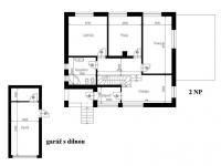 2.NP - Prodej domu v osobním vlastnictví 244 m², Praha 5 - Velká Chuchle