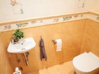 Přízemí: wc pro hosty - Prodej domu v osobním vlastnictví 184 m², Kladno