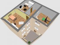 Prostorový plánek: 2.patro - Prodej domu v osobním vlastnictví 184 m², Kladno