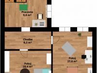 Plánek 2.patro  - Prodej domu v osobním vlastnictví 184 m², Kladno