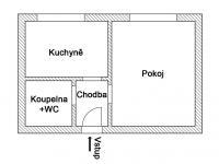 Prodej bytu 1+1 v osobním vlastnictví 30 m², Stochov