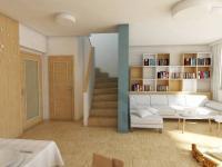 Obývací pokoj - Prodej domu v osobním vlastnictví 98 m², Smečno