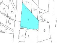 možnost rozdělení i na dva pozemky - Prodej pozemku 1547 m², Lubná