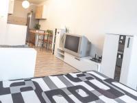 obývací pokoj - pohled od okna - Pronájem bytu 2+kk v osobním vlastnictví 41 m², Kladno