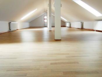 prostory dobře osvětlené - Pronájem komerčního objektu 149 m², Rakovník