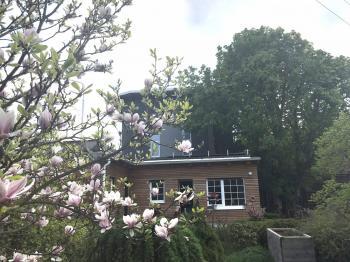 dům ze zahrady - Prodej nájemního domu 620 m², Kladno
