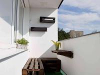 Lodžie - Prodej bytu 3+kk v osobním vlastnictví 68 m², Slaný