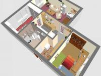 3D JZ - Prodej bytu 3+kk v osobním vlastnictví 60 m², Rakovník