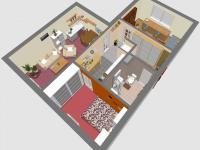 3D SZ - Prodej bytu 3+kk v osobním vlastnictví 60 m², Rakovník