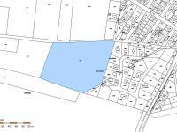 katastrální mapa - Prodej pozemku 23744 m², Pchery