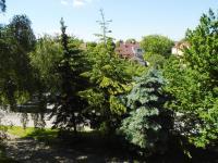 výhled z lodžie - Prodej bytu 3+kk v osobním vlastnictví 75 m², Kladno