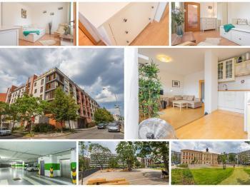 Koláž - Prodej bytu 1+kk v osobním vlastnictví 30 m², Praha 3 - Žižkov
