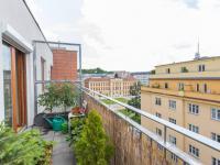 Terasa - Prodej bytu 1+kk v osobním vlastnictví 30 m², Praha 3 - Žižkov