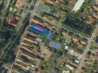 snímek katastru - Prodej domu v osobním vlastnictví 168 m², Kněževes
