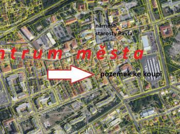 umístění v centru Kladna - Prodej pozemku 484 m², Kladno