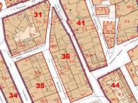 detail z hlavního výkresu ÚP - Prodej pozemku 484 m², Kladno