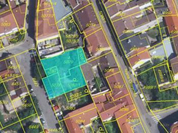 snímek pozemku - Prodej pozemku 484 m², Kladno