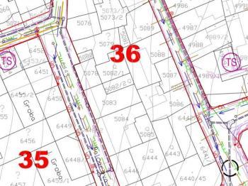 zákres IS - Prodej pozemku 484 m², Kladno