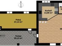 3.NP - Prodej domu v osobním vlastnictví 1100 m², Jarošov nad Nežárkou