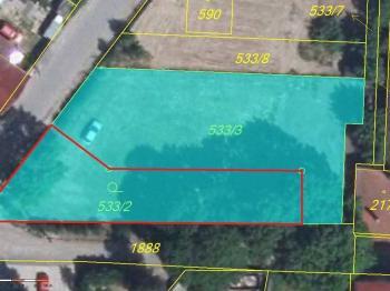 Prodej pozemku 498 m², Pavlov