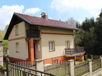 západní pohled (od silnice) - Prodej chaty / chalupy 114 m², Chřenovice