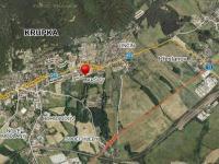 Prodej pozemku 1297 m², Krupka