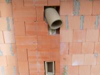 Příprava na venkovní krb (Prodej domu v osobním vlastnictví 141 m², Ústí nad Labem)