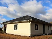 pohled na dům  (Prodej domu v osobním vlastnictví 118 m², Přestanov)