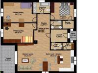 půdorys (Prodej domu v osobním vlastnictví 118 m², Přestanov)
