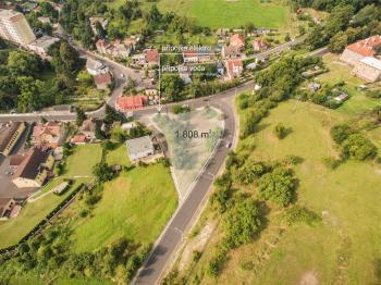 Prodej pozemku 1808 m², Ústí nad Labem