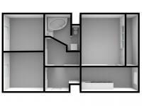 Pronájem bytu 3+1 v osobním vlastnictví 70 m², Ústí nad Labem