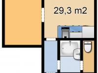 Prodej bytu 1+1 v družstevním vlastnictví 29 m², Ústí nad Labem