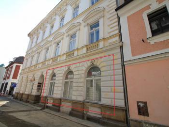 Pronájem obchodních prostor 251 m², Děčín