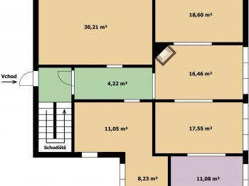 1NP - Prodej penzionu 558 m², Ústí nad Labem