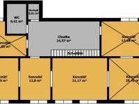 Pronájem kancelářských prostor 56 m², Ústí nad Labem