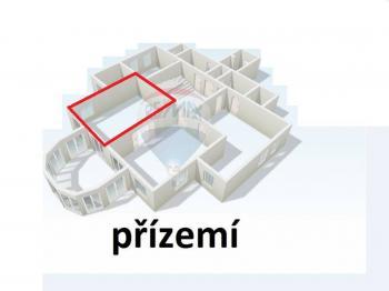 Pronájem kancelářských prostor 64 m², Ústí nad Labem