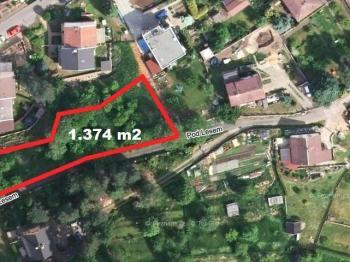 Prodej pozemku 1528 m², Ústí nad Labem