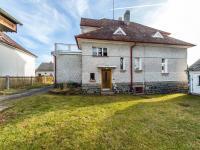 Pohled na RD - zahrada (Prodej domu v osobním vlastnictví 180 m², Mirovice)